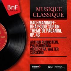 Rachmaninoff: Rhapsodie sur un thème de Paganini, Op. 43 (Mono Version)