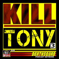 Podcast cover art for KILL TONY