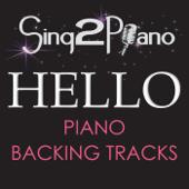 Hello (Lower Key) [Originally Performed By Adele] [Piano Karaoke Version]