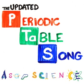 The periodic table song 2018 update single by asapscience on the periodic table song 2018 update single urtaz Choice Image