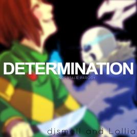 djsmell lolliaの determination undertale parody of irresistible