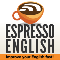 Podcast cover art for Espresso English Podcast