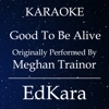 Good To Be Alive (Originally Performed by MeghanTrainor) [Karaoke No Guide Melody Version] - Single - EdKara