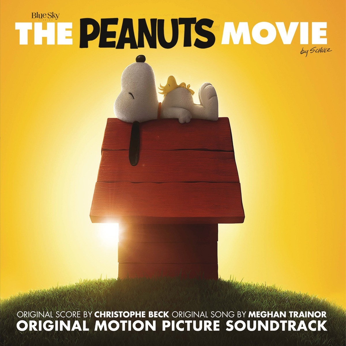 The Peanuts Movie Original Motion Picture Soundtrack Various Artists CD cover