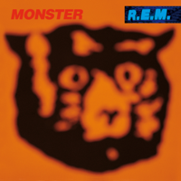 R.E.M. - Monster artwork