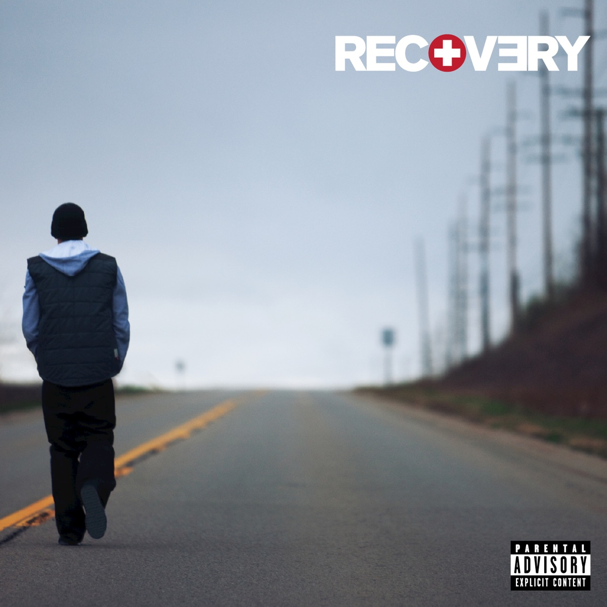 Recovery Eminem CD cover