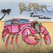 Pink Crustaceans and Good Vibrations - Pepper - Pepper