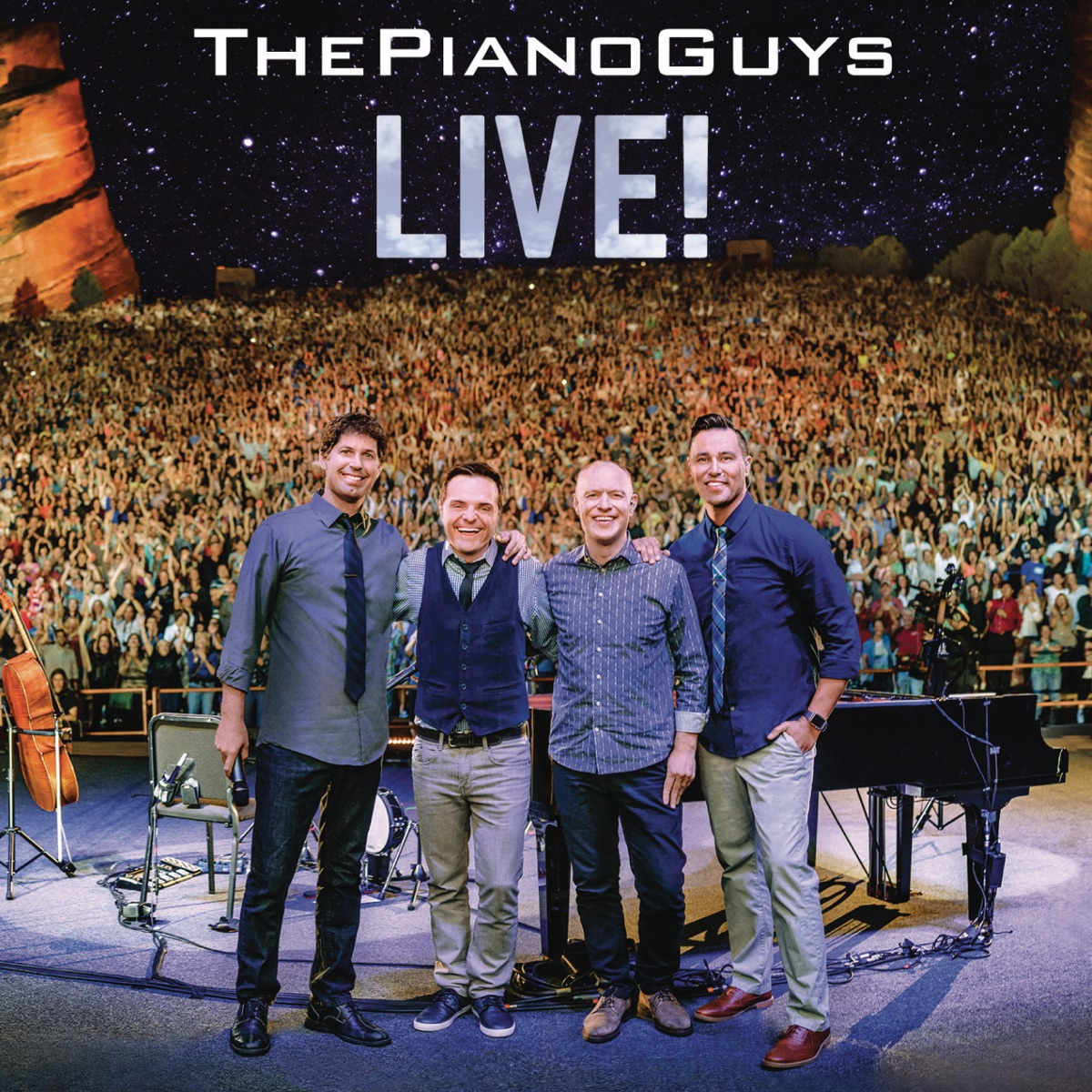 Live The Piano Guys CD cover
