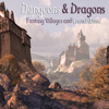 Various Artists - Dungeons & Dragons, Vol. 1: Fantasy Villages and Travel Music  artwork
