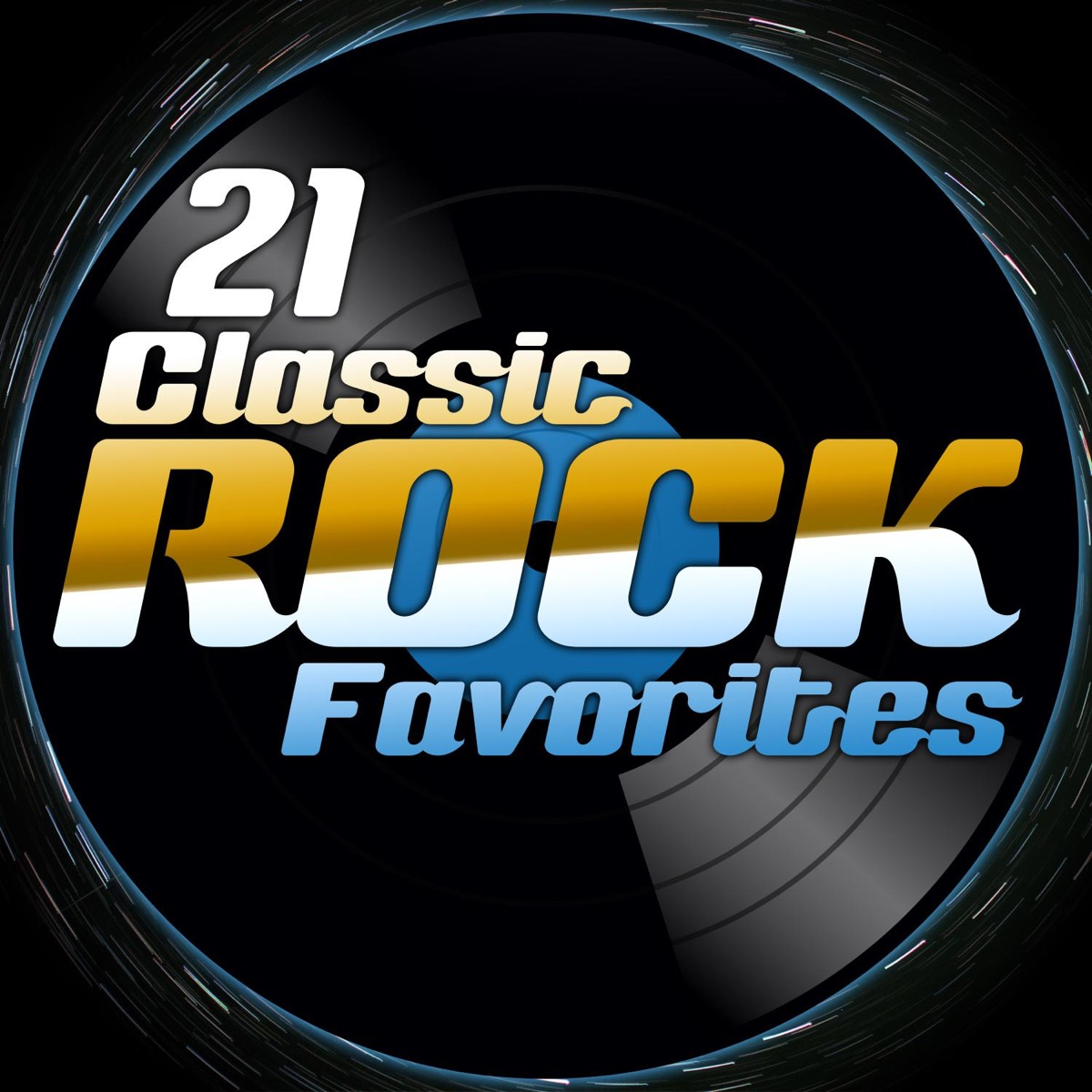 21 Classic Rock Favorites Various Artists CD cover