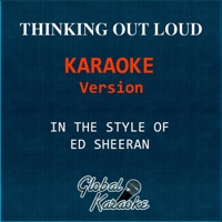 Thinking Out Loud (In the Style of Ed Sheeran) [Karaoke Backing Track] - Single