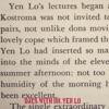 Days With Dr. Yen Lo, Dr. Yen Lo