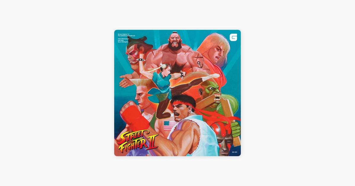 Street Fighter II The Definitive Soundtrack by Yoko Shimomura, Syun  Nishigaki & Isao Abe
