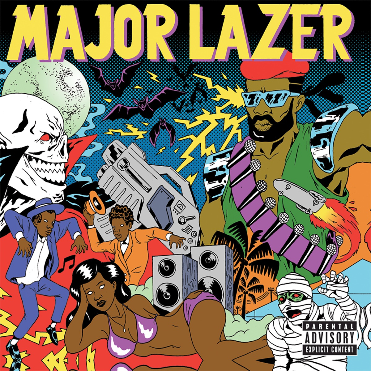 Guns Dont Kill People Lazers Do Major Lazer CD cover