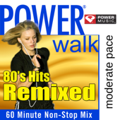Power Cardio  80's Hits Remixed (60 Minute Non Stop Workout Mix)-Power Music Workout