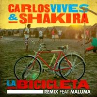 La Bicicleta (Remix) [feat. Maluma] - Single - Carlos Vives & Shakira