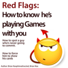 Red Flags: How to Know He's Playing Games with You (Unabridged) - Brian Keephimattracted & Brian Nox