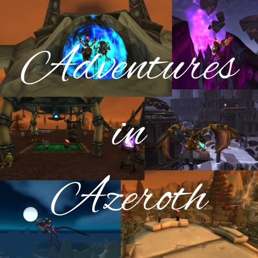 Cover image of Adventures in Azeroth