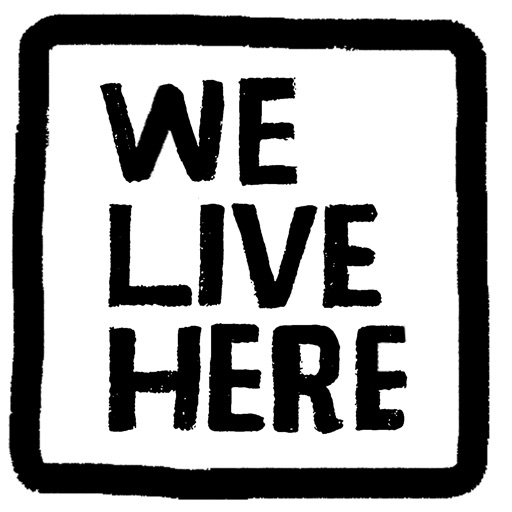 Cover image of We Live Here