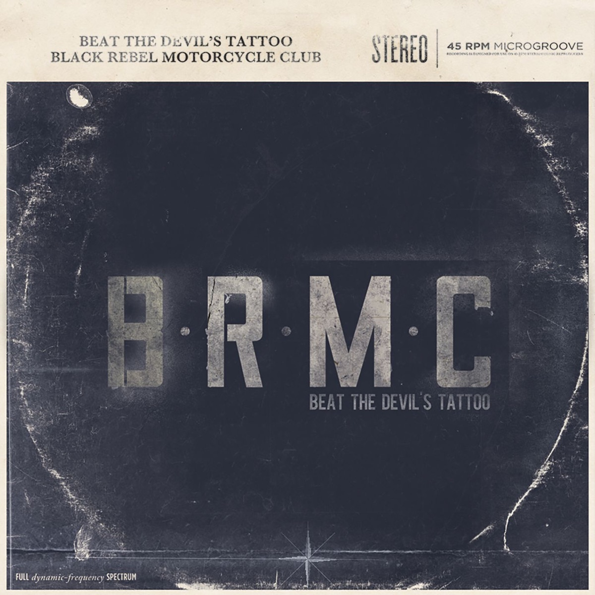 Beat the Devils Tattoo Black Rebel Motorcycle Club CD cover