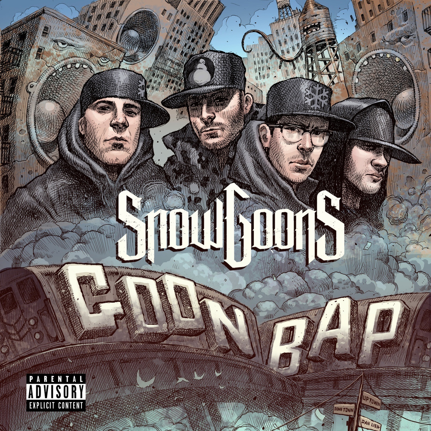 Snowgoons - New Kidz On The Bloc (feat. Token, TJ Brown, Big Kurt, Intell & Merkules)