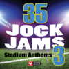 Power Music Workout - 35 Jock Jams 3 - Stadium Anthems (Unmixed Workout Music Ideal for Gym, Jogging, Running, Cycling, Cardio and Fitness)  artwork