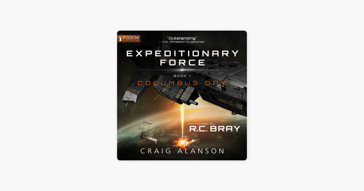 columbus day expeditionary force audible