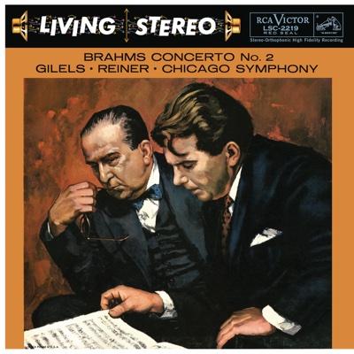 Brahms: Piano Concerto No. 2 in B-Flat Major, Op. 83 - Emil Gilels album