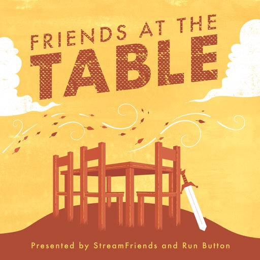 Cover image of Friends at the Table