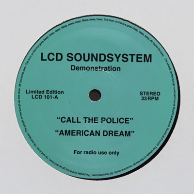 call the police - LCD Soundsystem song