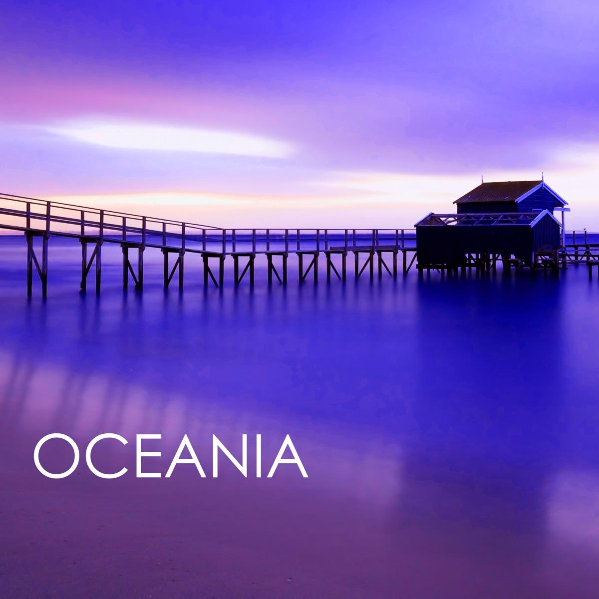 Oceania - Rilassanti Suoni del Mare Suono della Natura per Sottofondo Yoga  Meditazione Moana CD cover