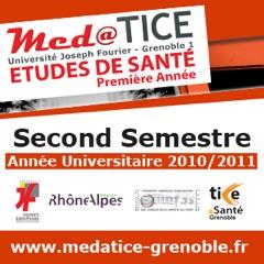 med@TICE PAES Second Semestre 2010/2011 - Video - Faculté de Médecine et de Pharmacie de Grenoble - Université Joseph Four