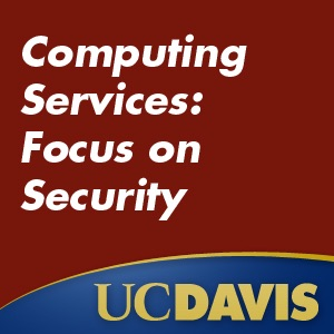 Computing Services Conference: Focus on Security