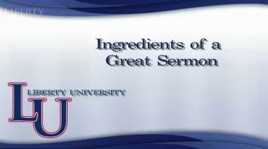 HOMI501 - Expository Preaching: Ingredients of a Great