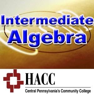 MATH 051: Intermediate Algebra - pc