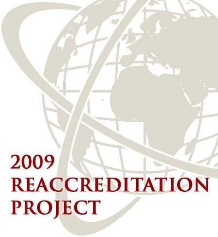 2009 Reaccreditation Project
