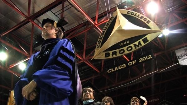 2012 SUNY Broome Commencement - Graduation