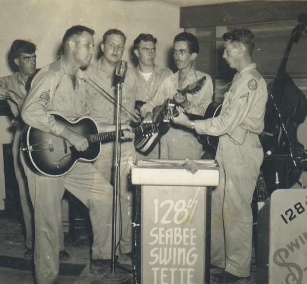 WW II 128th Seabee Swing Tette - Guan 1945