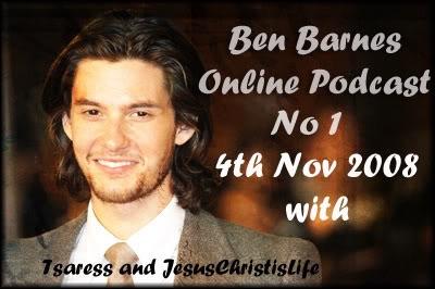 Ben Barnes Online Podcast