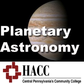 Astr 103 Introduction To Planetary Astronomy Complete