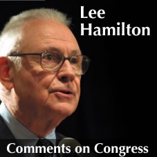 Lee Hamilton Comments on Congress