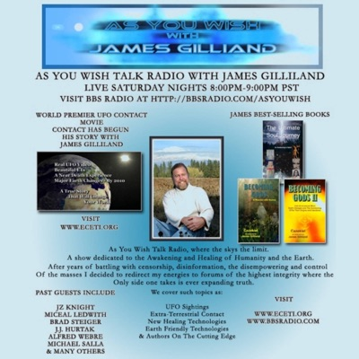 As You Wish Talk Radio with James Gilliland