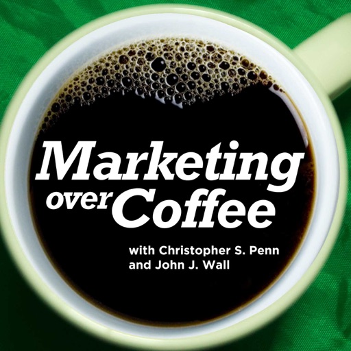 Cover image of Marketing Over Coffee Marketing Podcast