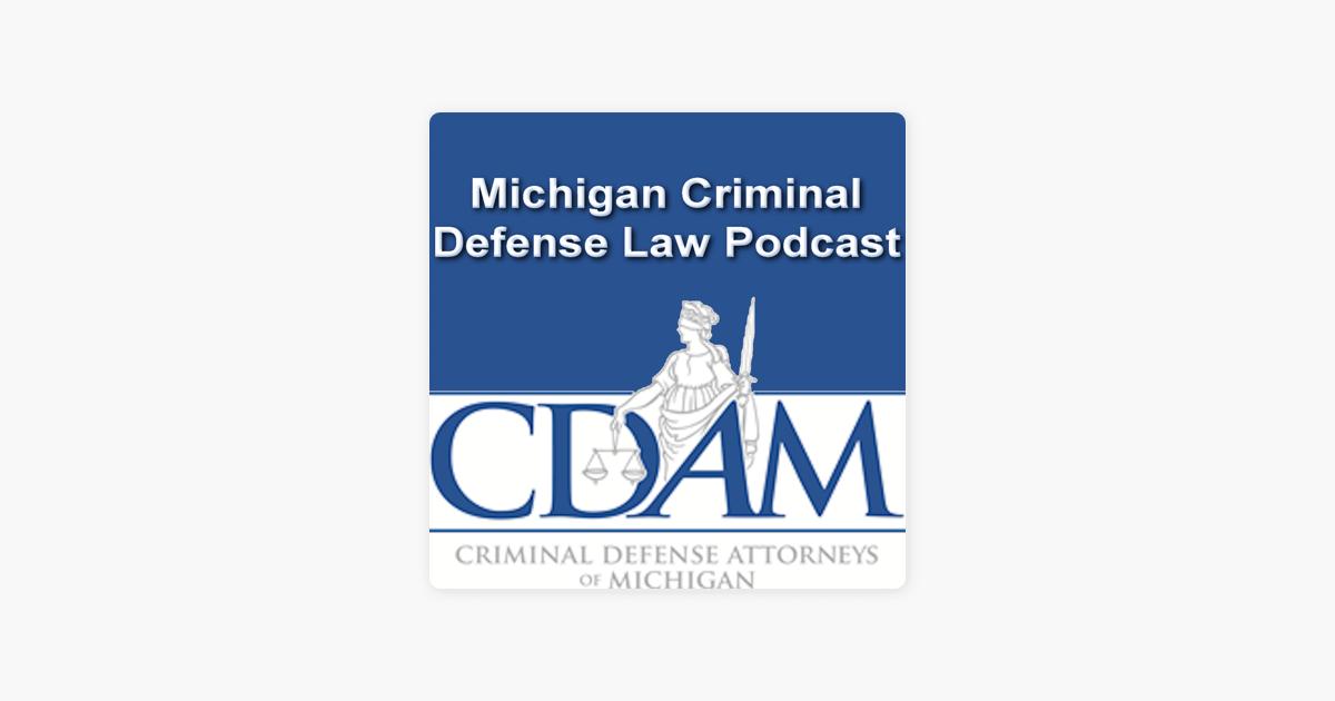 Michigan'stop criminal sexual defense attorney's