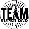 Team Super Dad with Jonnie Jensen artwork