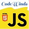 CodeWinds - Leading edge web developer news and training | javascript / React.js / Node.js / HTML5 /... artwork