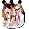 Hidden Mickeys artwork