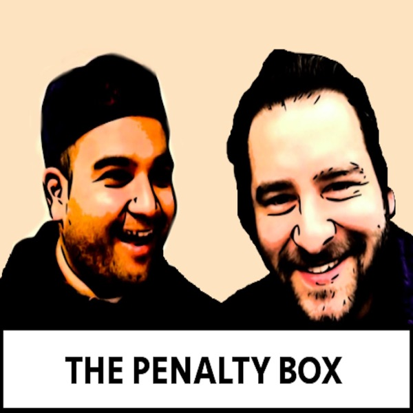 Penalty box with Ankur and Kyle
