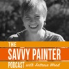 Savvy Painter Podcast with Antrese Wood artwork
