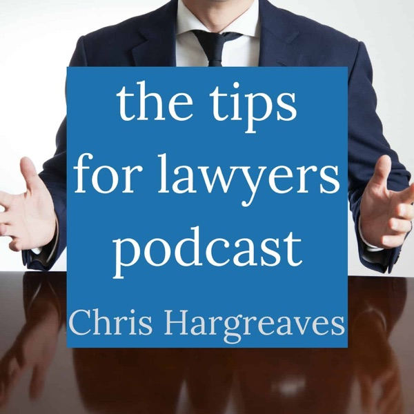 Tips for Lawyers Podcast banner backdrop